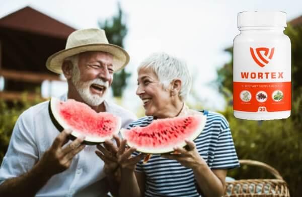 old couple, detox capsules