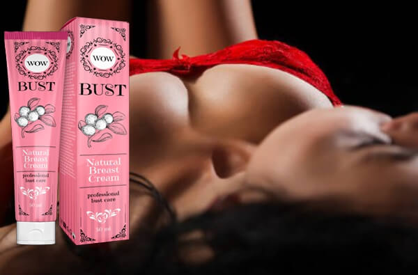 bust cream, woman
