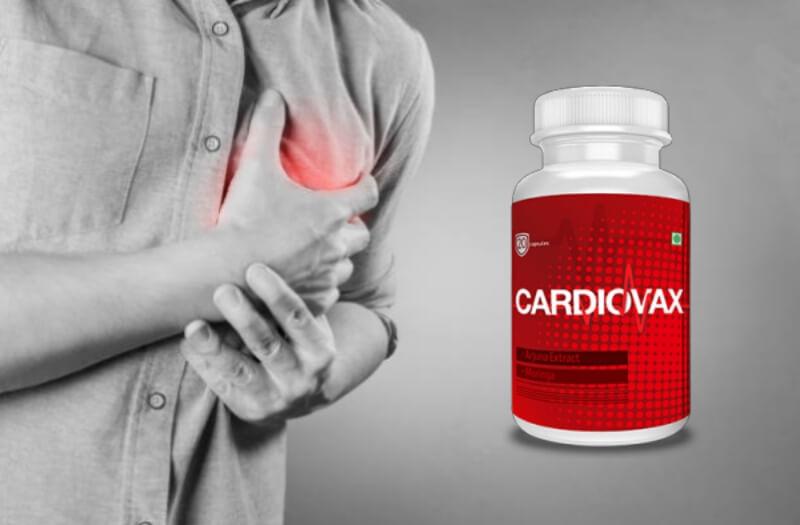 cardiovax capsules, heart, hypertension, cardio