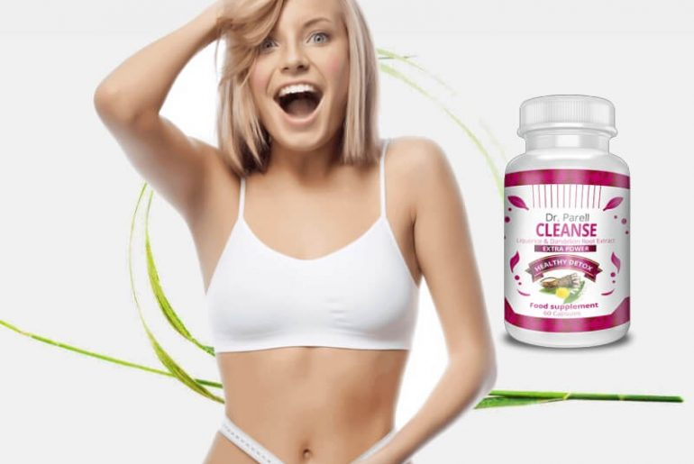 Dr Parell cleanse capsules, woman, weight loss