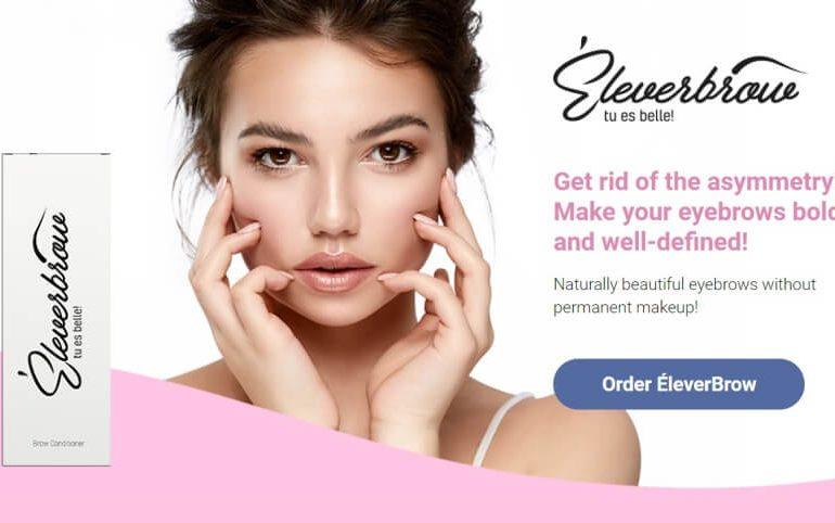 eleverbrow, eyebrows, woman, wax, balsam