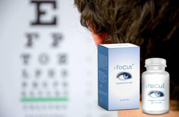 ifocus capsules, vision, eye exam