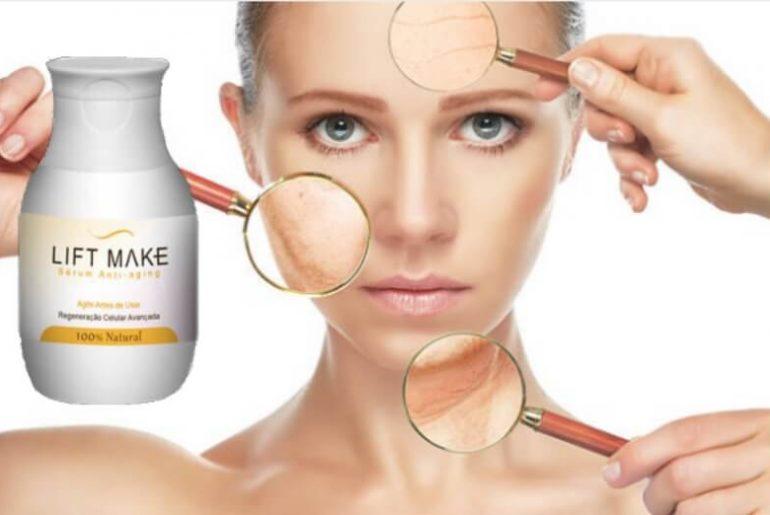 lift make serum, anti-aging, face, wrinkles