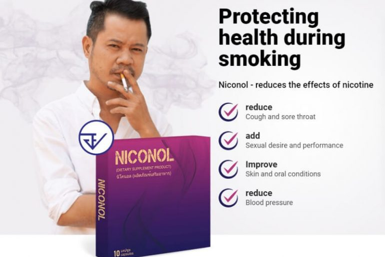 niconol capsules, smoking, cigarettes