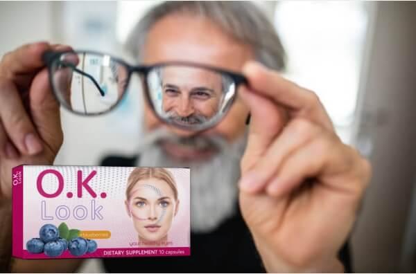 ok look capsules, effects, man, glasses