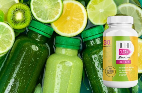 Ultra Clean Premium Detox green fruits