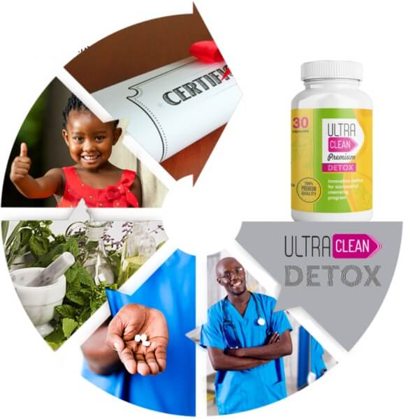 Ultra Clean Premium Detox certificate benefits endorsement