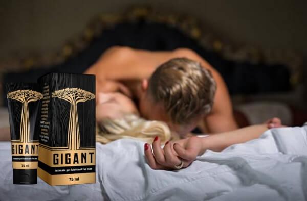 gel gigant, coppia a letto