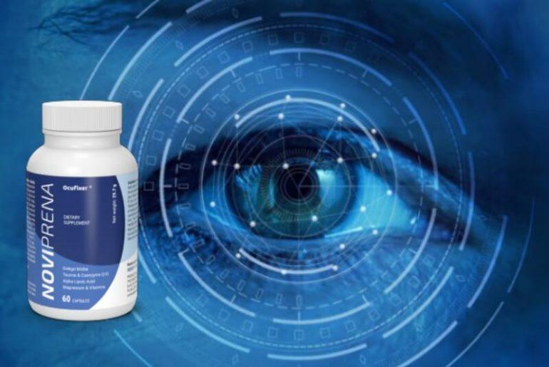 noviprena capsules, eye vision, eye sight