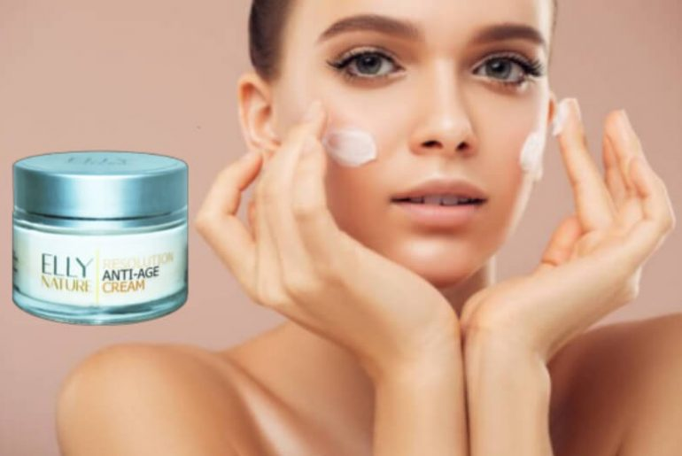 resolution cream, elly nature, woman, face care, anti aging