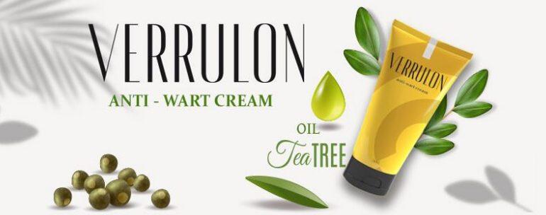 Verrulon cream, warts, papilloma