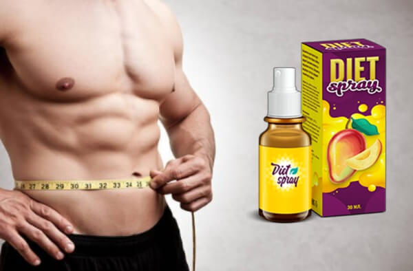 man, weight loss, diet spray