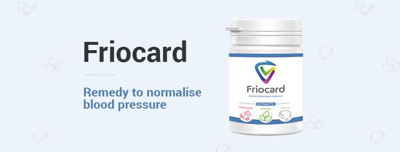 frio card capsules, normalise blood pressure