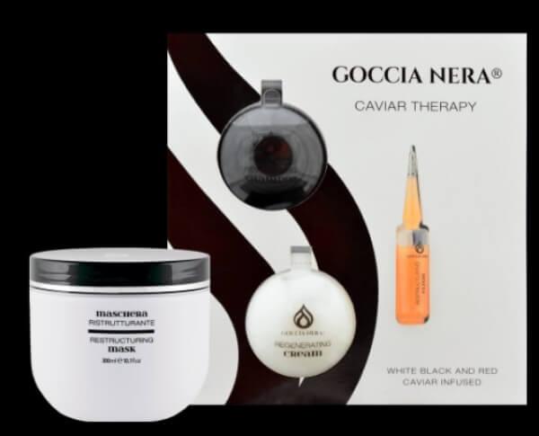goccia nera caviar therapy