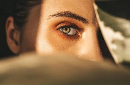 woman, eyes, look, eyelashes
