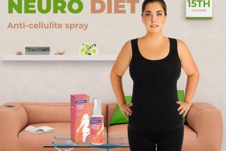 neuro diet spray, woman, anti-cellulite