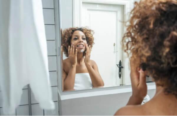 morning cleansing skin