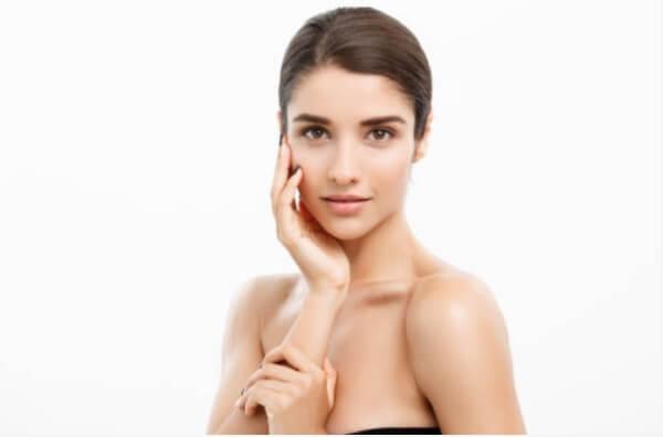 clean face skin care