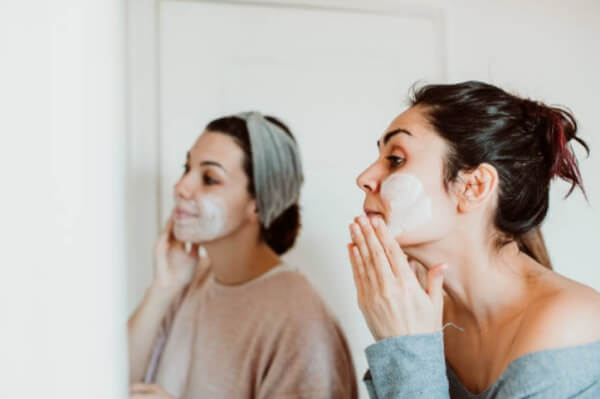 skin care, woman, face mask