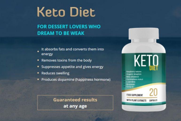 keto diet capsules price