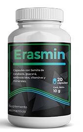 Erasmin 20 cápsulas Revisión México