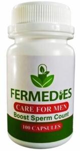 Fermedies Care for Men Sperm Booster 100 capsules Nigeria