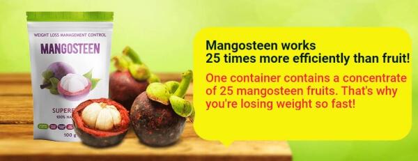 Mangosteen Powder Ingredients