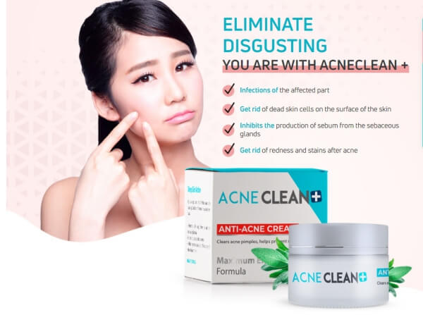 acneclean + official website