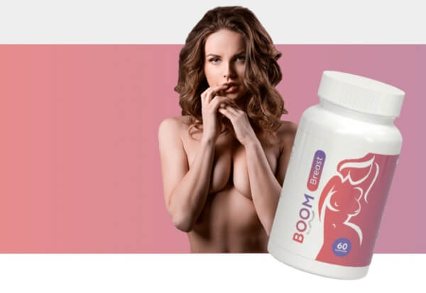 BoomBreast Capsules woman boobs, bust