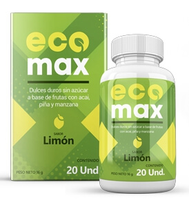 EcoMAX 20 capsules Limon Review Peru