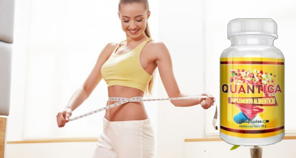 Quantica capsules weight loss woman