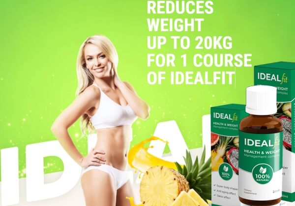 Ideal Fit Drops weight loss
