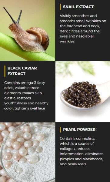PurePearls Ingredients