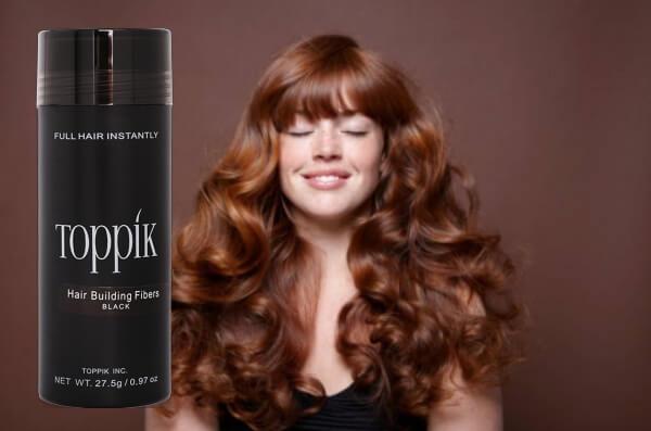 Toppik hair spray woman