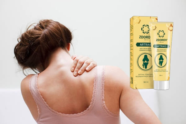 joint pain cream zdorov