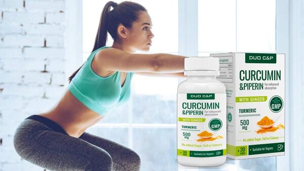 DUO Curcumin & Piperin