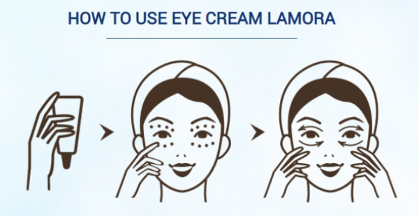 face cream apply