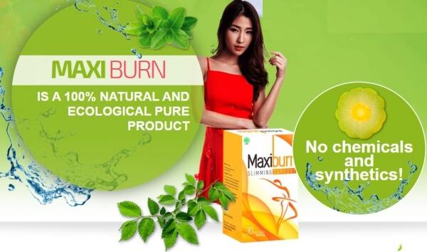 MaxiBurn ingredients