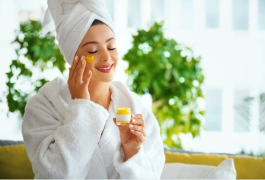 skin care before sleep