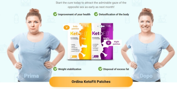 KetoFit Patches price official website