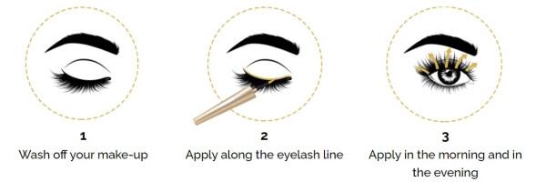 usage serum eyelashes
