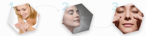 usage face cream