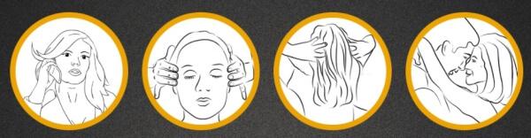 Head & Hair instructions